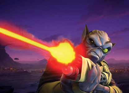 Zeb with Gun