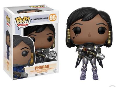 Blizzard Exclusive Titanium Pharah POP