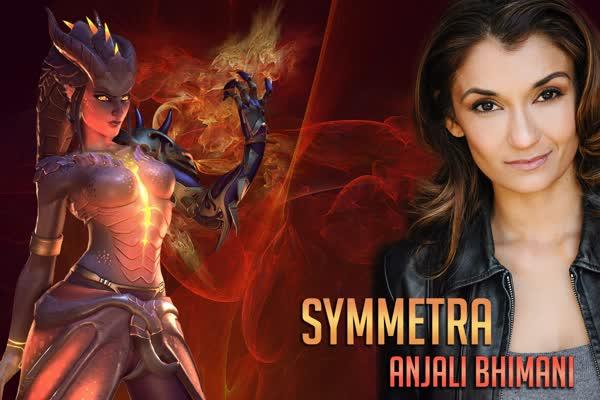 Anjali Dragon Symmetra