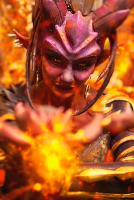 Anjali Dragon Sym Cosplay 1