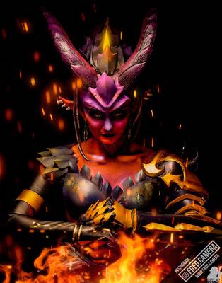 Anjali Dragon Sym Cosplay 2